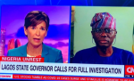 Only two dead cases recorded in lekki tollgate shooting says Gov Sanwo-Olu to CNN (Video)