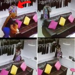 CCTV Captures Moment Lady stole straight hair worth 200k (video)
