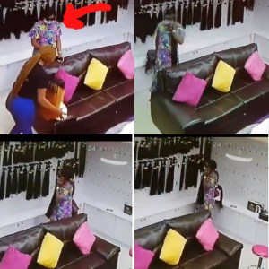 CCTV Captures Moment Lady stole straight hair worth 200k