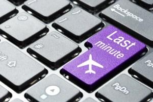 Last-minute-bookings