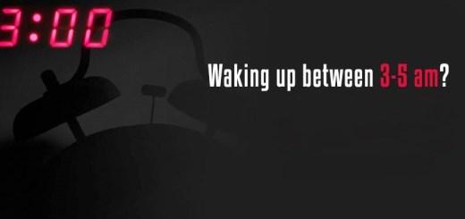 Waking up 3AM