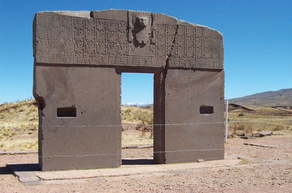 5. Tiahuanaco, Bolivia, 'Gate of the Sun'