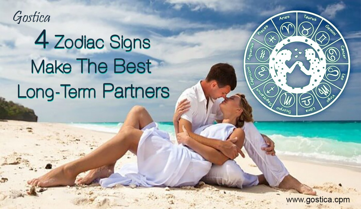 These 4 Zodiac Signs Make The Best Long-Term Partners