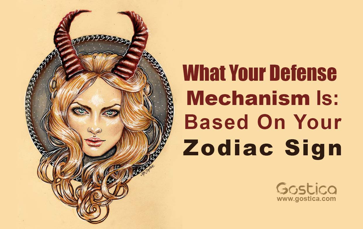 What Your Defense Mechanism Is Based On Your Zodiac Sign