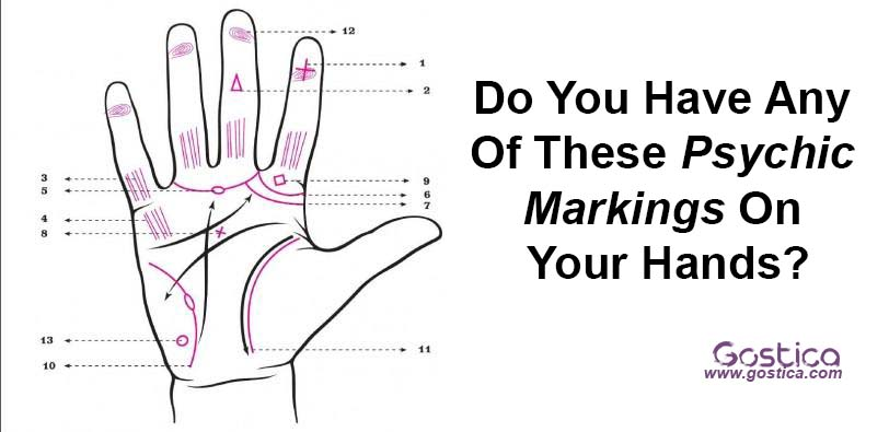 Do You Have Any Of These Psychic Markings On Your Hands