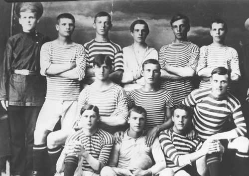 1916 год. Команда «Чёрное море».