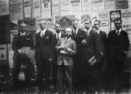 Скит поэтов фото. Рафальский, Долинский, Воеводин, Бем, Болесцис, Тидеман, Фёдоров, Семёнов. 1926 год