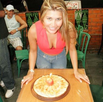 mulher maçã bolo