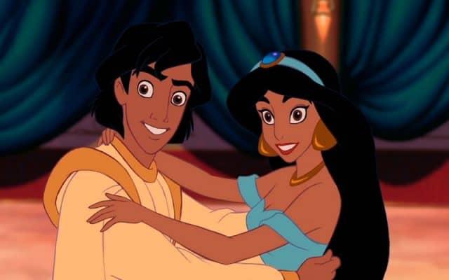 aladdin en jasmine, disney plus