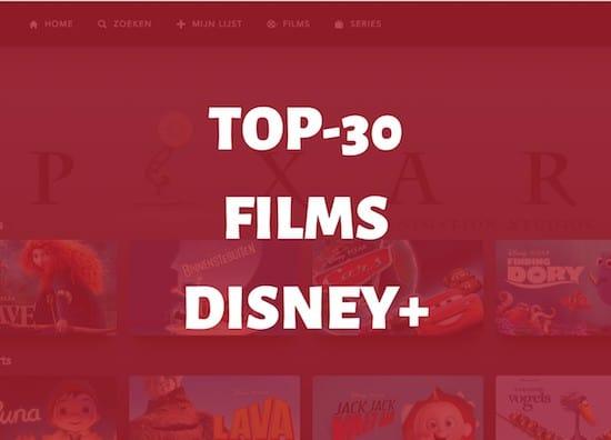 top 30 beste films disney plus