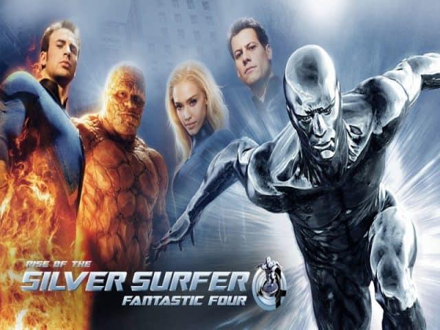 fantastic four rise of the silver surfer, disney plus, marvel