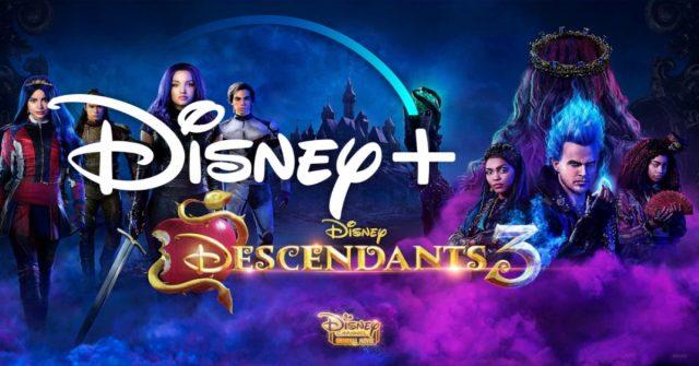 descendants 3, disney plus, nederland, release