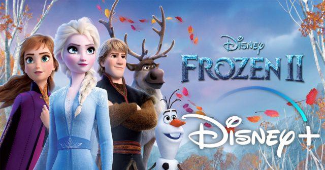 frozen 2, disney plus, banner