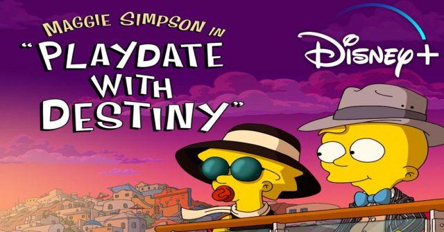 disney plus, maggie simpson, playdate with destiny