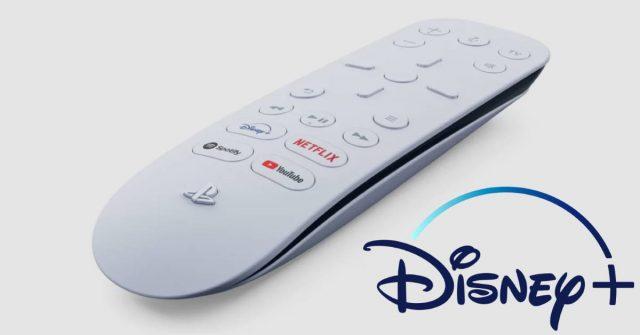 ps5, remote, disney plus