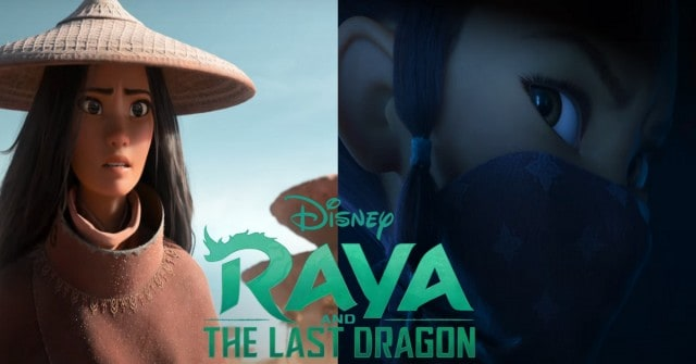raya and the last dragon, trailer, disney