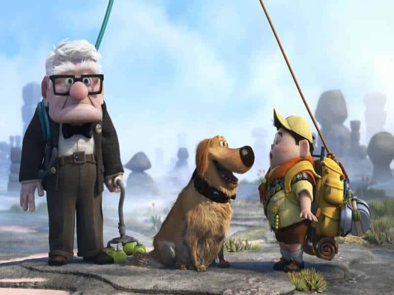 dug, up, pixar, disney plus, disney+