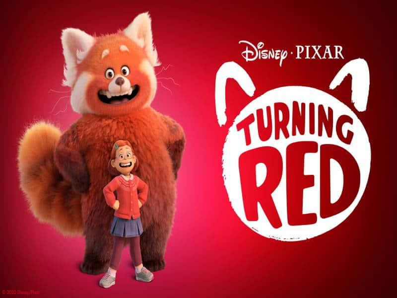 turning red, pixar, disney