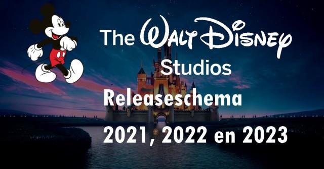 disney films 2021, 2022 en 2023