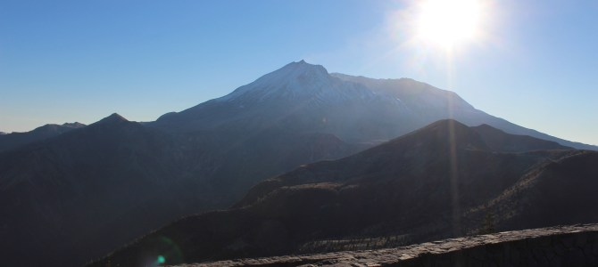 [October in Seattle] Mount Saint Helens National Volcanic Monument (East Side)