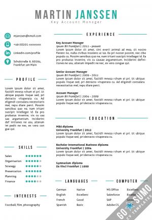 All CV Templates  Go Sumo