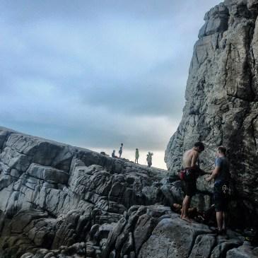 教練,我只是想攀岩啊!龍洞攀岩體驗