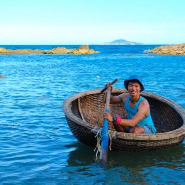 乘載著越南人的海洋傳統-籃船