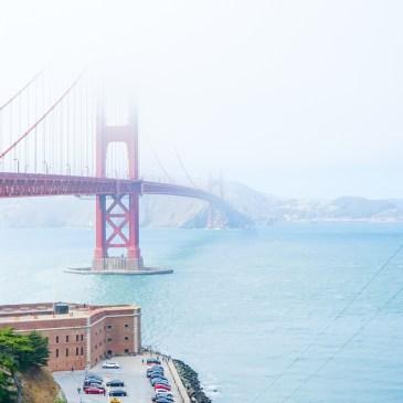 搭公車到舊金山最美的地標,金門大橋