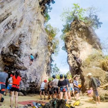 攀岩天堂,我在泰國喀比的攀岩挑戰!