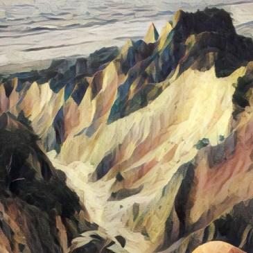 台灣小百岳-苗栗火炎山,享受大峽谷的視覺震撼