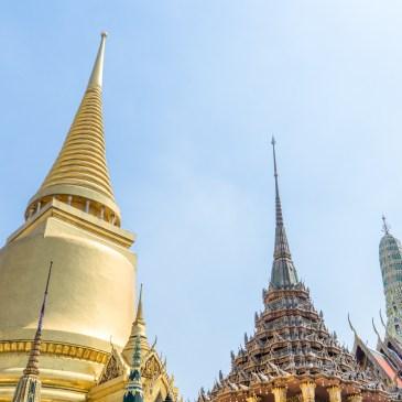 一日曼谷舊城區,搭橘旗船到大皇宮、臥佛寺與鄭王廟吧!