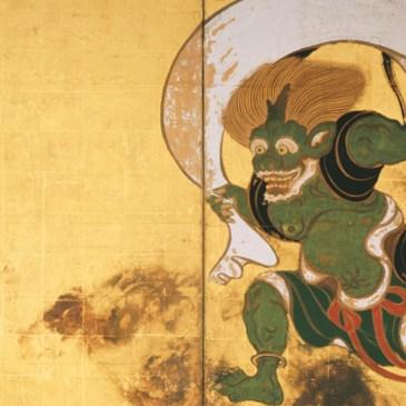 京都建仁寺,風神雷神圖在這裡!