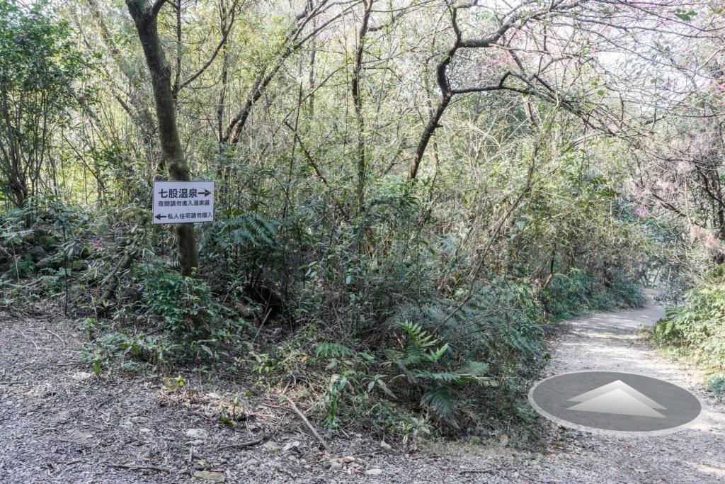 進入後的一個岔路口(走右側)