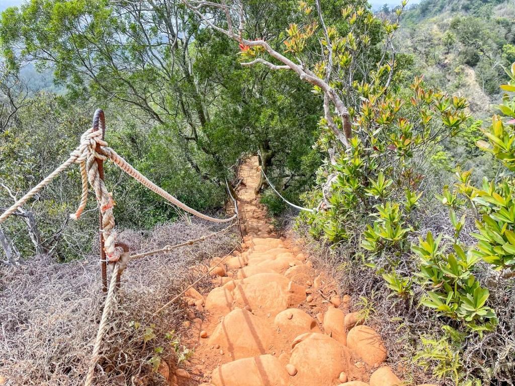 火炎山後半段步道