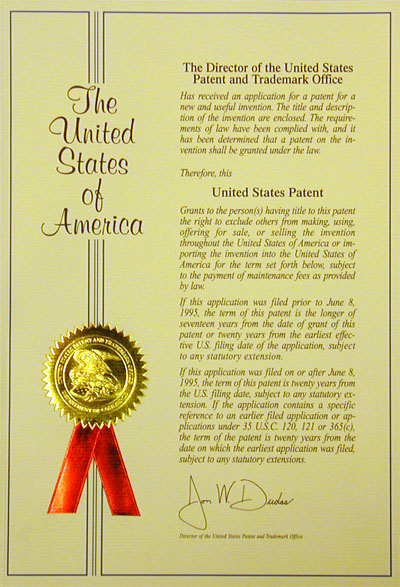 Letters Patent