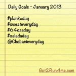 Getting Back On Track With Simple Daily Goals