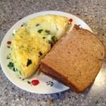 Unusual Breakfast Ideas: Eggs And Lentils
