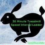 30 Minute Treadmill Interval Workout (Speed Ladder)