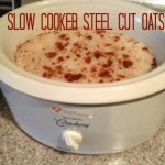 Slow Cooker Steel Cut Oats Recipe