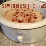 Slow Cooker Steel Cut Oats Recipe