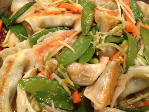 Trader Joe's Vegetable Gyoza Meal