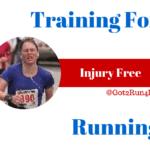 Training For Injury Free Running