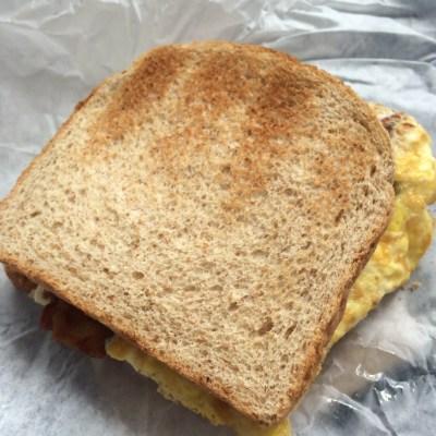 Bacon + Egg Sandwich