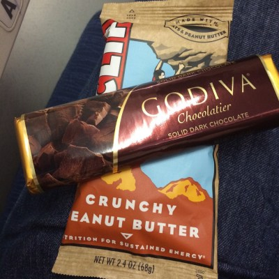 Cliff Bar + Godiva