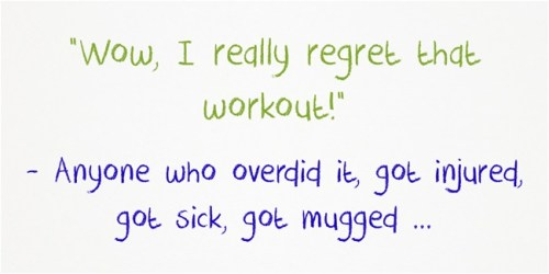 Regret That Workout