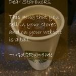 Dear Starbucks, This Is A Tall