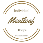Healthy Individual Meatloaf Recipe