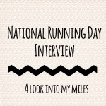 Celebrating National Running Day