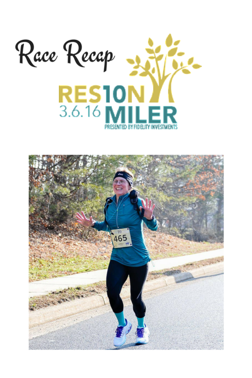 Reston 10 Miler Race Recap