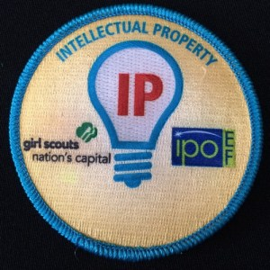 Girl Scout IP Badge